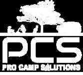 pcs logo white